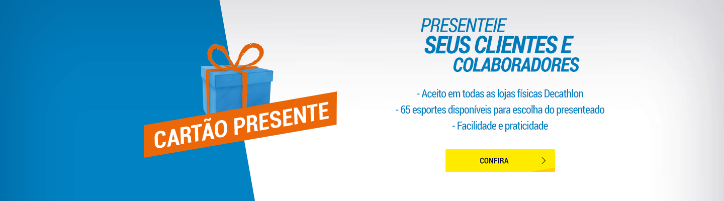 Exclusividades Decathlon Pro Cartão Presente - Decathlon Corporativo ... 1c5bf69071f2f