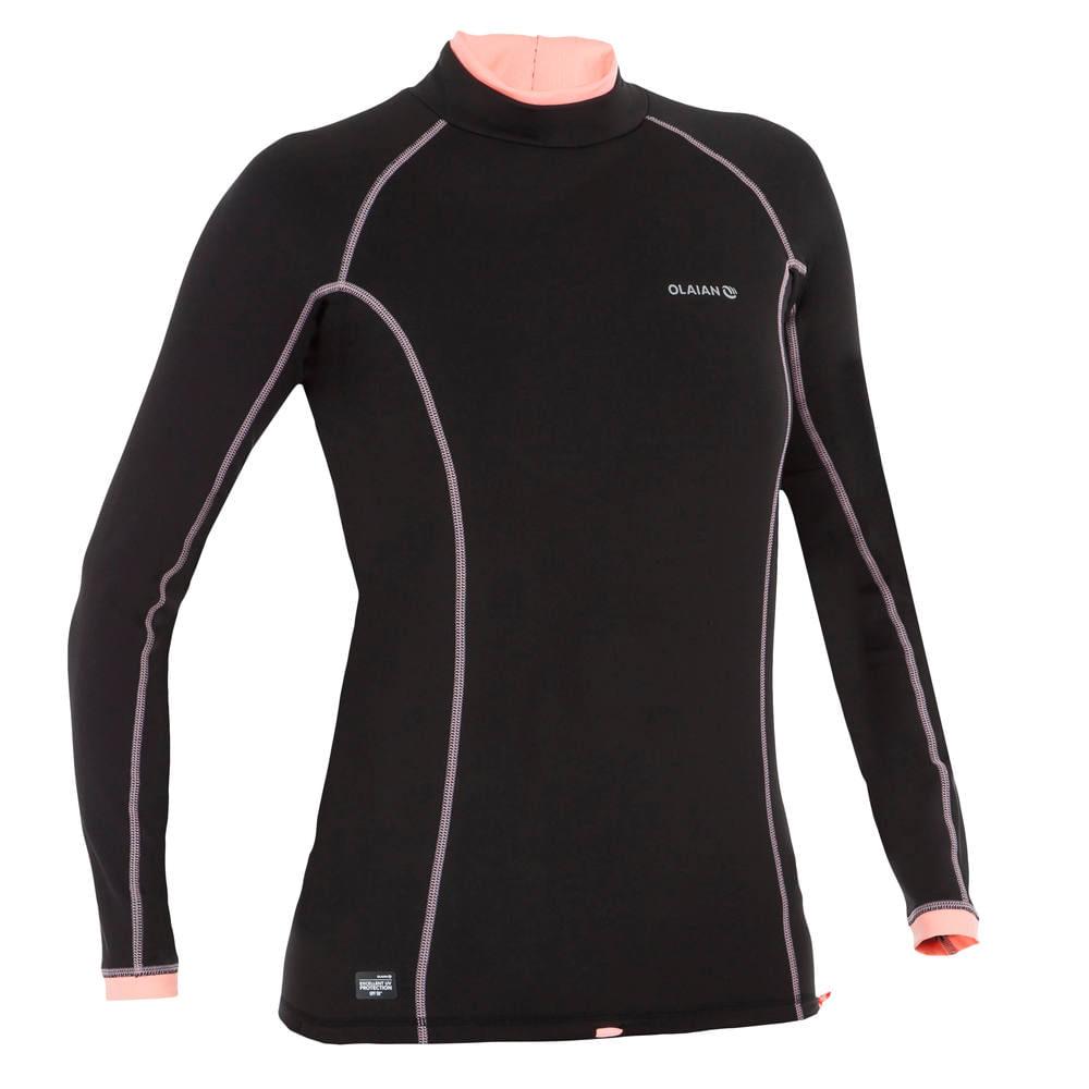 fcb5df146 Camiseta com Proteção Solar UV50 Feminina Tribord - decathlonpro