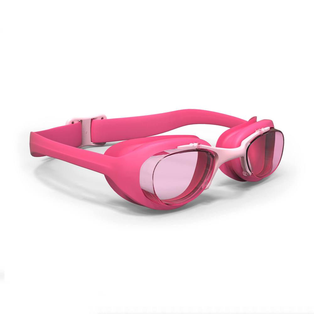 445f3c040 Óculos de natação XBASE PRINT Tamanho pequeno nabaiji - XBASE JR PINK