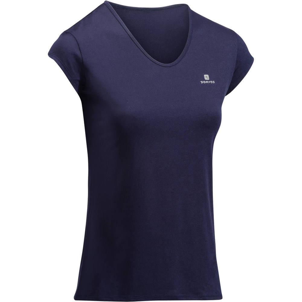 7d9ea264c1 Camiseta Fitness Cardio feminina 100 Domyos. Camiseta Fitness Cardio  feminina ...