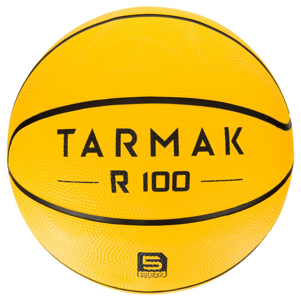Bola de Basquete Tarmak 100 T5 - TARMAK 100 S5 YELLOW 7b225e763a6e6