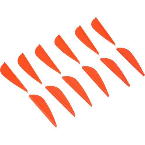 Pluma para flechas Geologic (x 12) - 12 VANES CLUB  RED, .