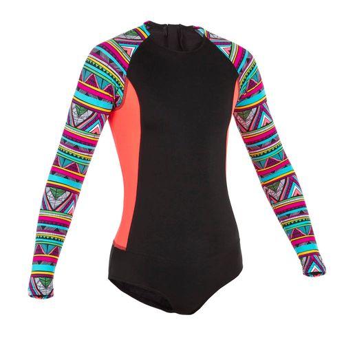 a85768054 Maiô de surf infantil UPF50+ olaian - Decathlon