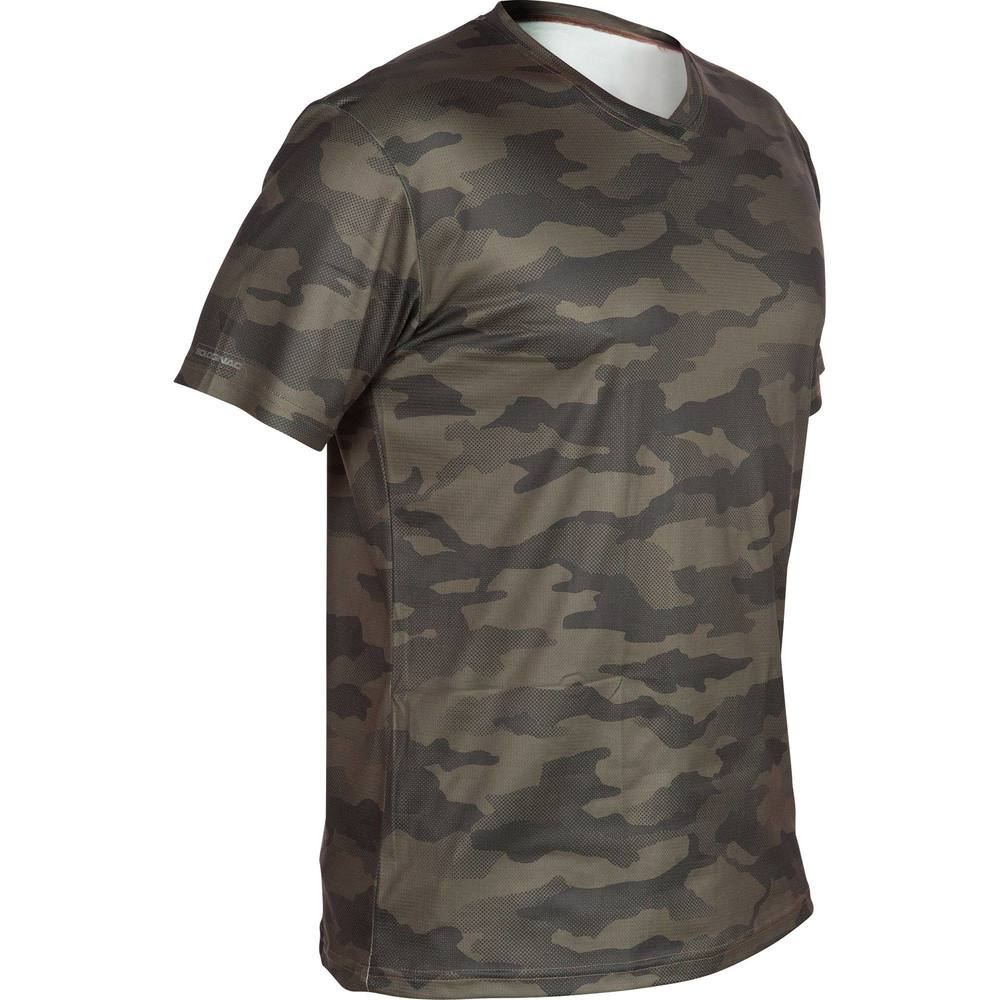 c1b98ebc7 Camiseta camuflada respirável SG100 Solognac. Camiseta camuflada respirável  SG100 Solognac