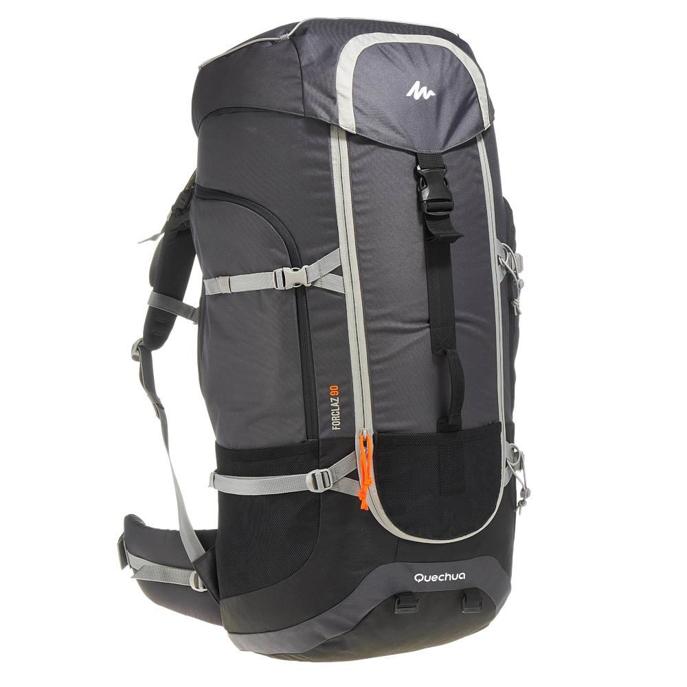99f20a6cb Mochila de trekking viagem Forclaz 90 Litros - SAC À DOS FORCLAZ 90