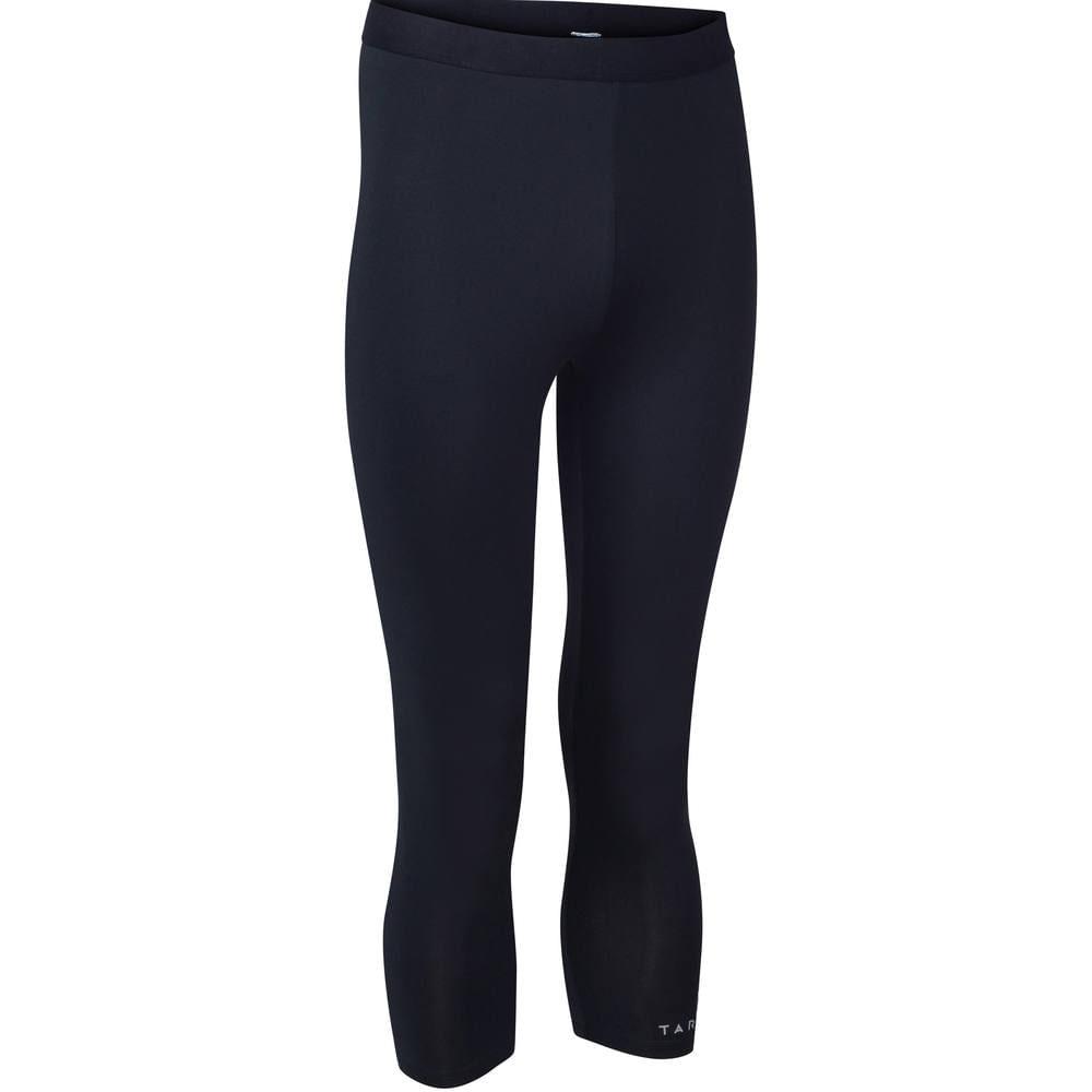 Calça térmica masculina Tarmak - UNDERWEAR 3 4 TIGHT M BLACK, 2XL. Calça  térmica masculina Tarmak f983b2680d