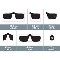 Clip adaptável a óculos graduados VISION CLIP 300 SMALL polarizados ... c2a5a7c1a8