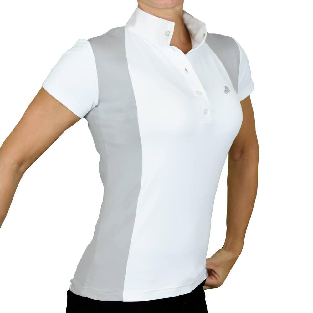 9dc2c7fcb Camisa Polo para Hipismo feminina de Competição Henri de Rivel. Camisa Polo  para Hipismo ...