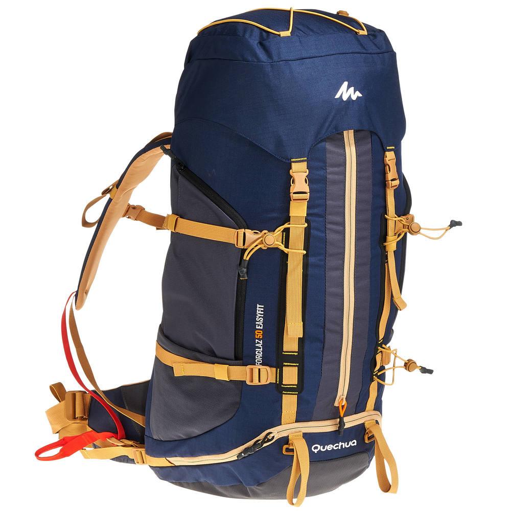 9a9eb2037 Mochila de trekking Easyfit 50 litros - Decathlon