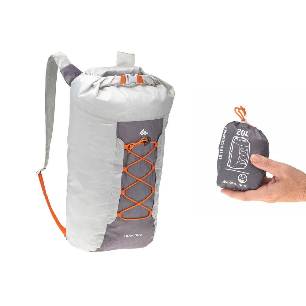 8a5eb678265 Mochila de apoio impermeável ultra compacta 20 litros Quechua - BAG ARP20  ULTRACOMPAC