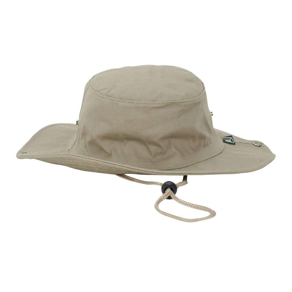 Chapéu de pescador Safari Jogá -  CHAPÉU SAFARI CAQUI BORD JOGA 1230ede50e3