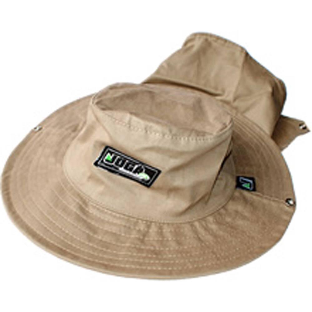 Chapéu de pescador safári com proteção bordado jogá -  CHAPÉU SAFARI CAQUI  C  PROT BORD JOG 76d93f97f88