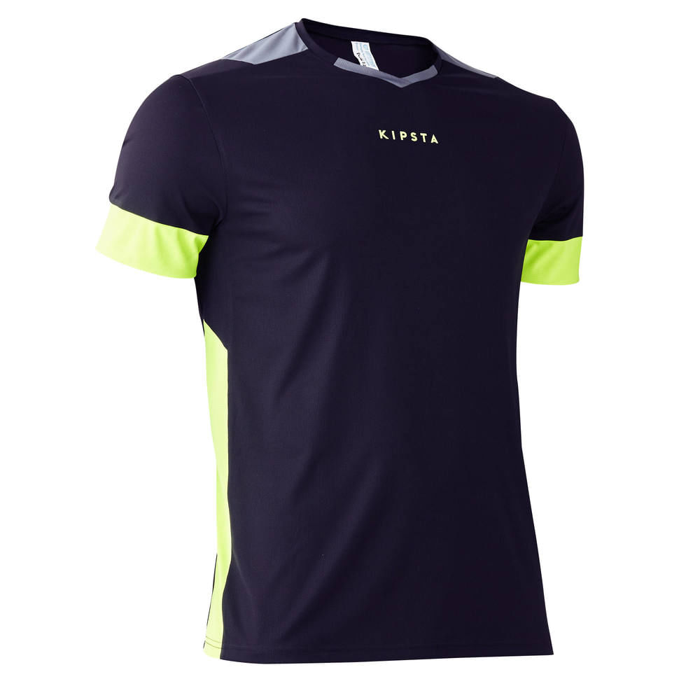 67769d7aff00a Camiseta de futebol adulto F500. Camiseta de futebol adulto F500