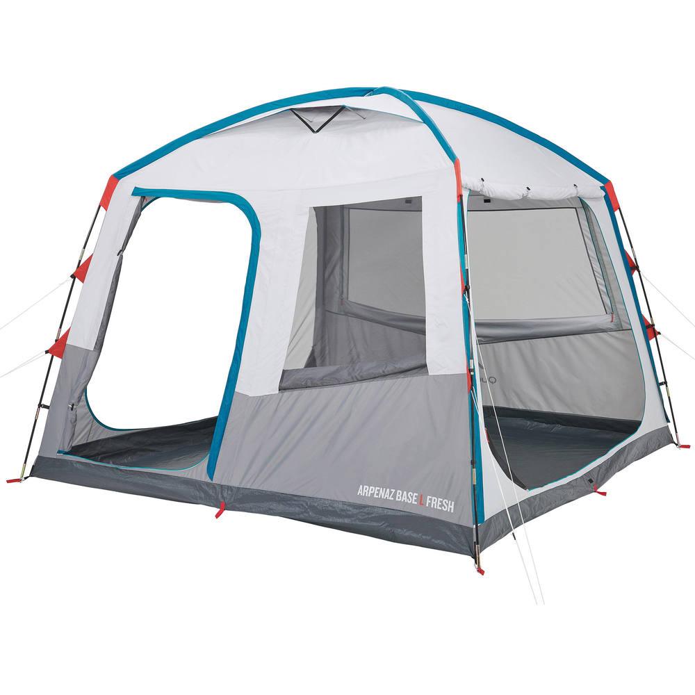 gazebo de camping base l fresh arpenaz decathlon. Black Bedroom Furniture Sets. Home Design Ideas