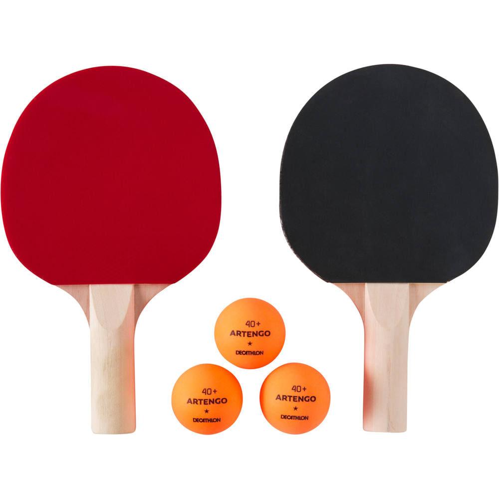 Kit Mini raquetes de tênis de mesa TTR 100 Artengo - TTR 100 MINI   BALLS  . b95110ee7f6a7