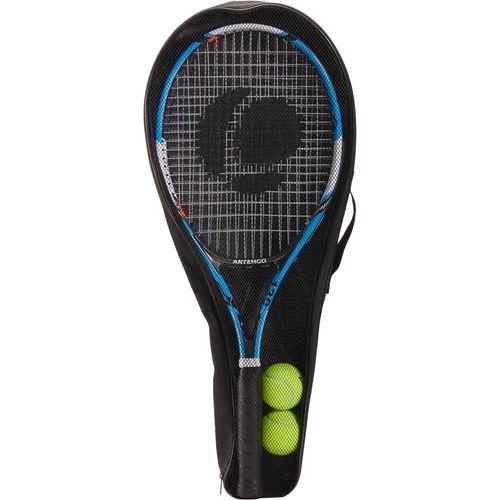 de2570ecff9 Kit de Raquetes de Tênis TR130 Artengo (2 raquetes + 2 bolas+ raqueteira) -  SET TR 130 BLUE ORANGE