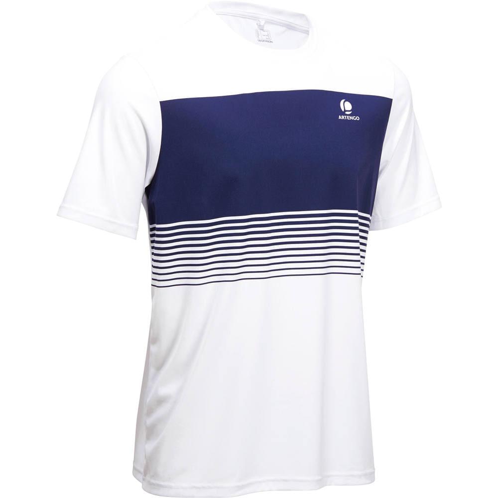 cde2d0dfa9 Camiseta de tênis Masculina Soft 500 artengo - T SHIRT SOFT M WHITE EUR
