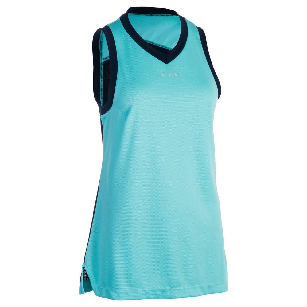 b1b92c6cc Camiseta regata de basquete feminina B500 Tarmak. Camiseta regata de basquete  feminina B500 Tarmak