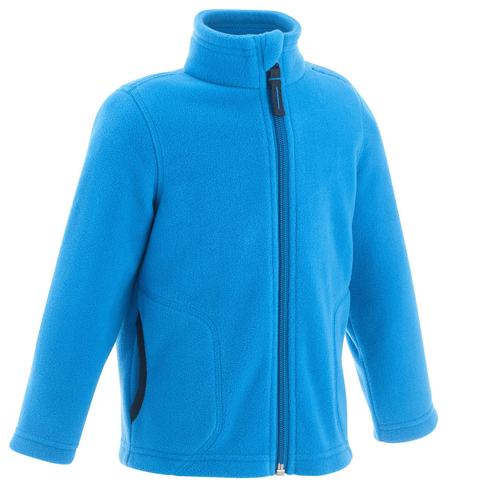 e00031bb25 Blusa fleece infantil de trilha Hike200 - FLCE HIKE 150 KID BOY BLUE