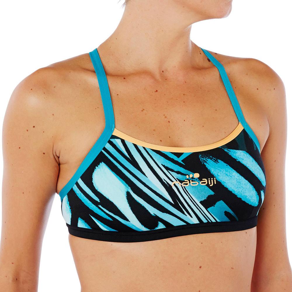 Top de natação adulto Jade Nabaiji - decathlonstore 96a28c32247a7