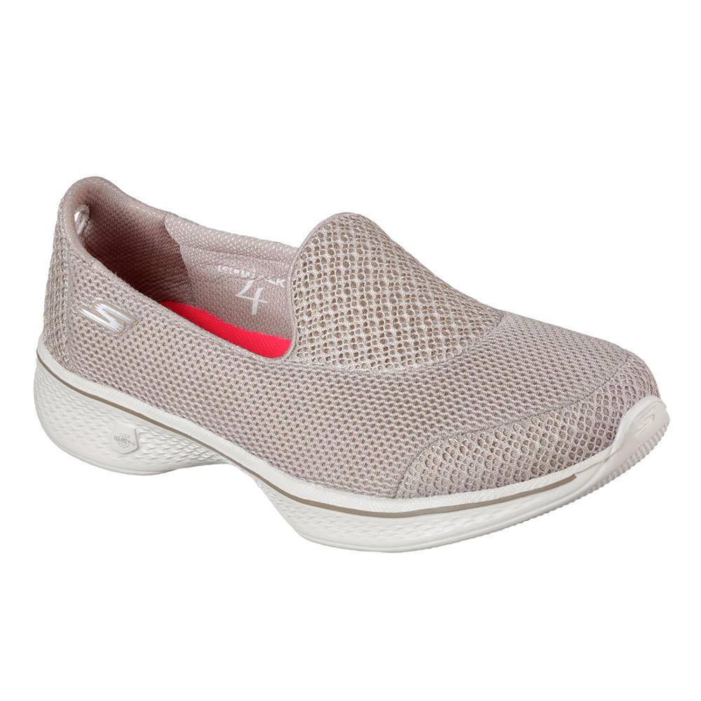e738abbfa2 Tênis feminino de caminhada Skechers Go Walk 4. Tênis feminino de caminhada  Skechers Go Walk 4