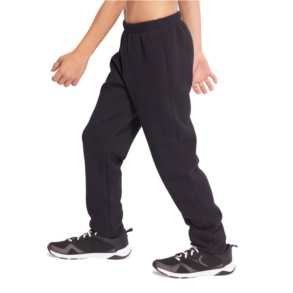 bff2d83145 Calça infantil masculina regular Warm´y para ginástica Domyos ...