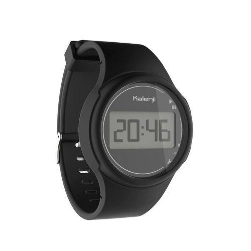 Relógio esportivo digital W100 M Kalenji - *W 100 M BLACK, .