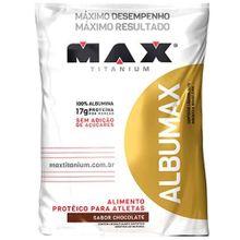 Albumina 500g Albumax Titanium Chocolate 2176bee453d8e
