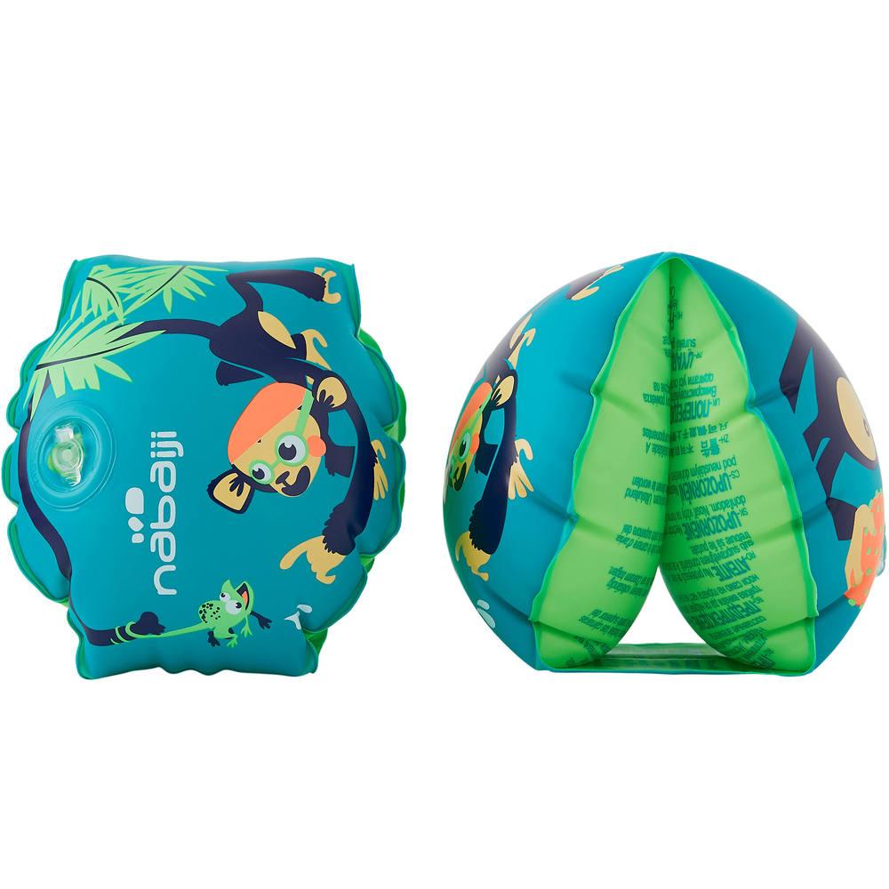 Boia de braço de natação para crianças de 11 a 30kg Nabaiji - INFLATE 100  PRINT 11-30KG JR MO b91bb26016d