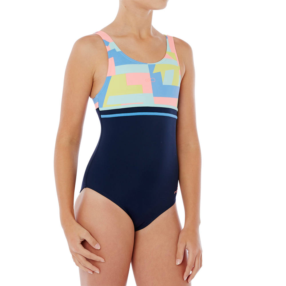 Maiô de natação Loran infantil Nabaiji - decathlonstore 437a608611089