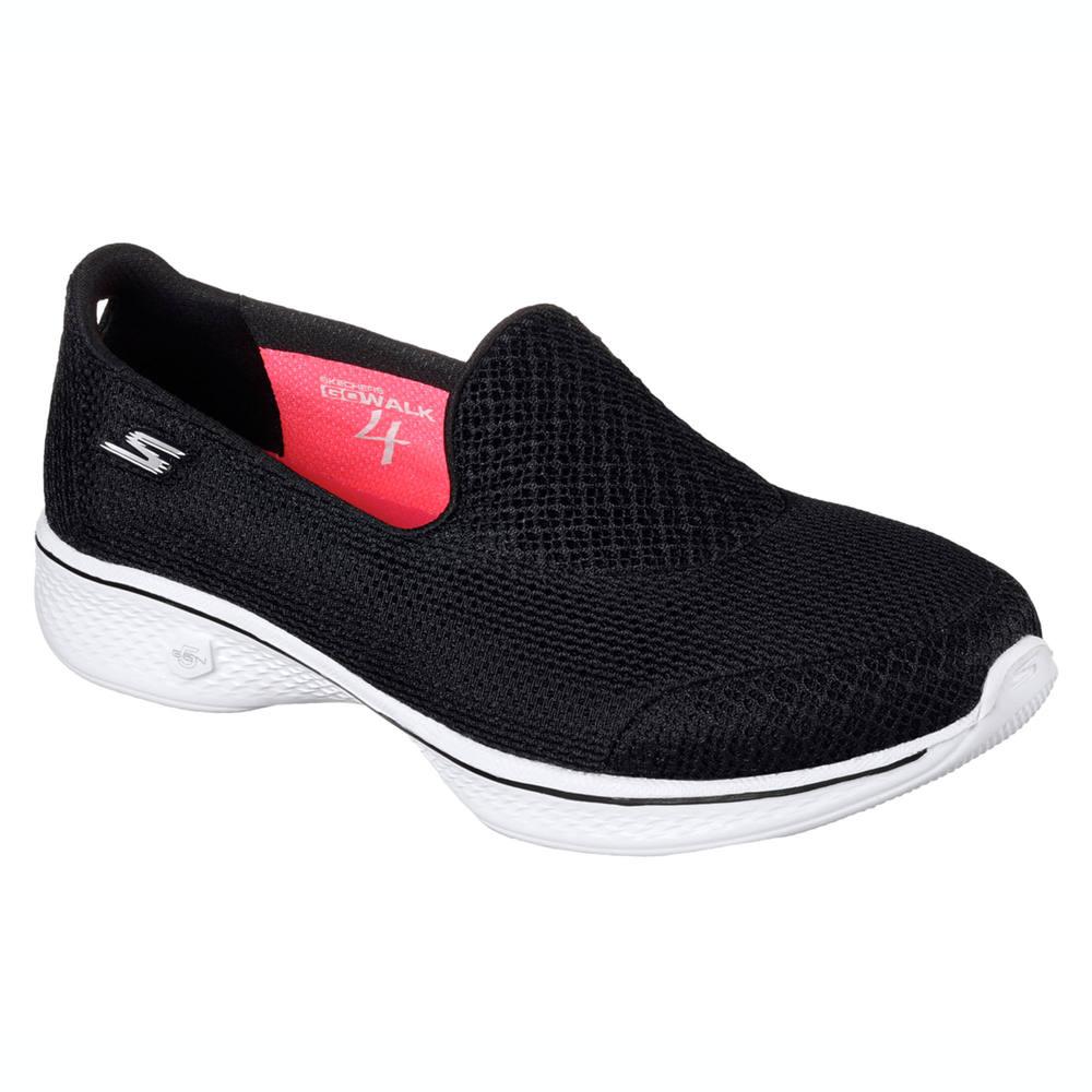 a257814fc7 Tênis feminino de caminhada Skechers Go Walk 4. -tn-skt-go-walk-4---pto-36