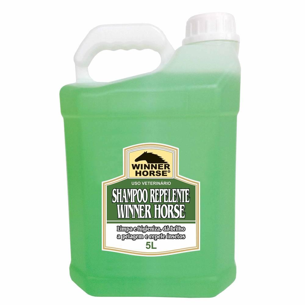 Shampoo Repelente para Hipismo 5 Litros Winner Horse -   SHAMPO REPELENTE  WR 5 LITROS BH e617146cc21cc