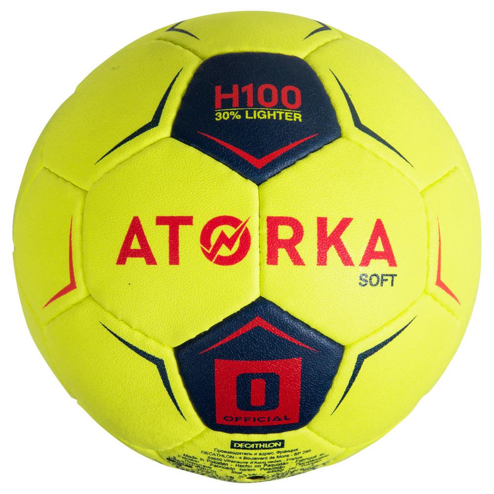 0f78aa6ffd Bola de handebol H100 infantil T0 - Bola de handebol H100 Soft Atorka Copy  Copy Copy