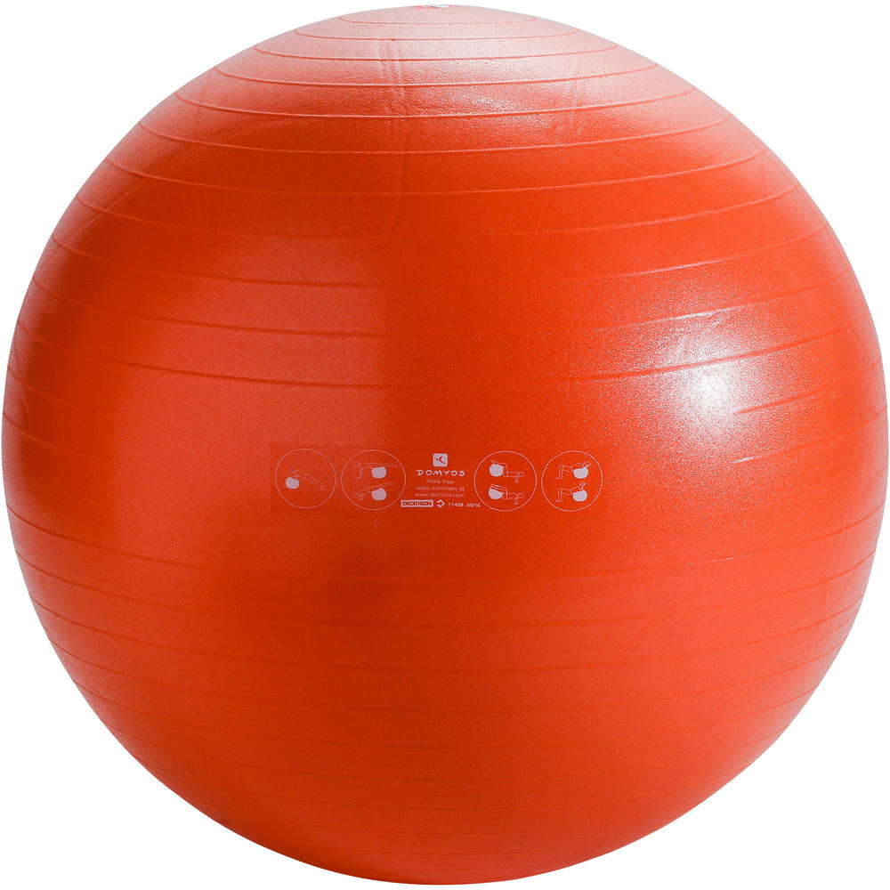 Bola de Pilates e Ginástica 75 cm Anti Burst Domyos -  GYM BALL 75CM ANTI  BURST DOMYOS 9589cd15ae7c