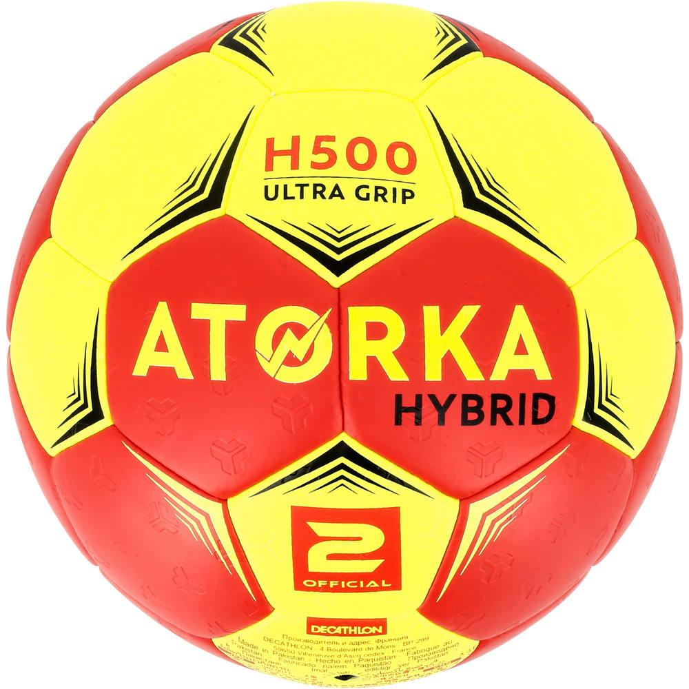 b13786c107 Bola de Handebol T2 H500 - Bola de Handebol H500 Atorka Copy