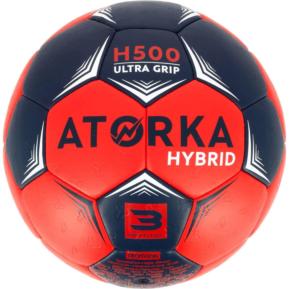 dcf2c35ea69bb Bola de Handebol T3 H500 - Bola de Handebol H500 Atorka Copy. Bola de  Handebol ...