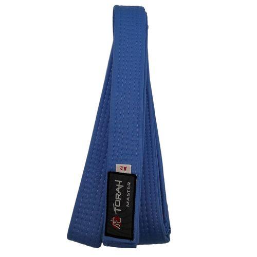 e31d977840 Faixa de Graduação Azul Judo Karate Adulto A3 -  FAIXA MASTER AZ CELESTE  TORAH