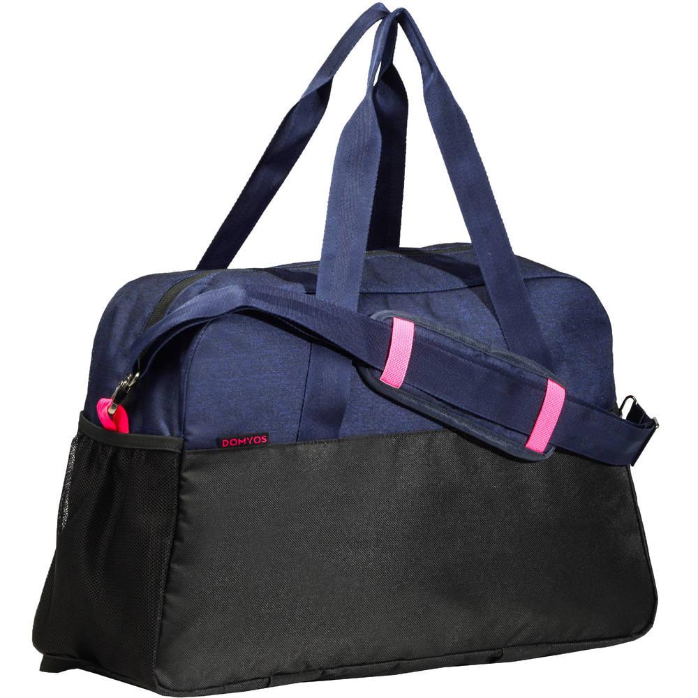 e1050f310 Bolsa Fitness 30 Litros Domyos - FITNESS BAG 30L BLACK&PINK DOMYOS, M. Bolsa  Fitness ...