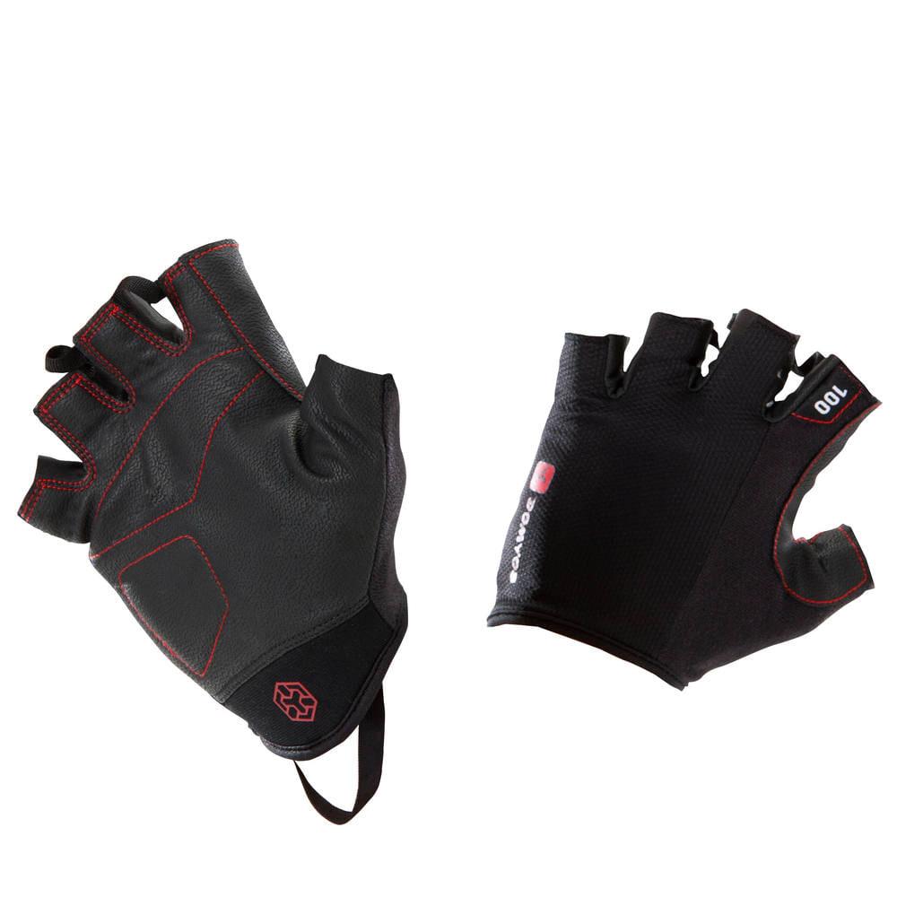 a282296983 Luva Academia Musculação com Velcro - Glove BodyBuilding 100 ...