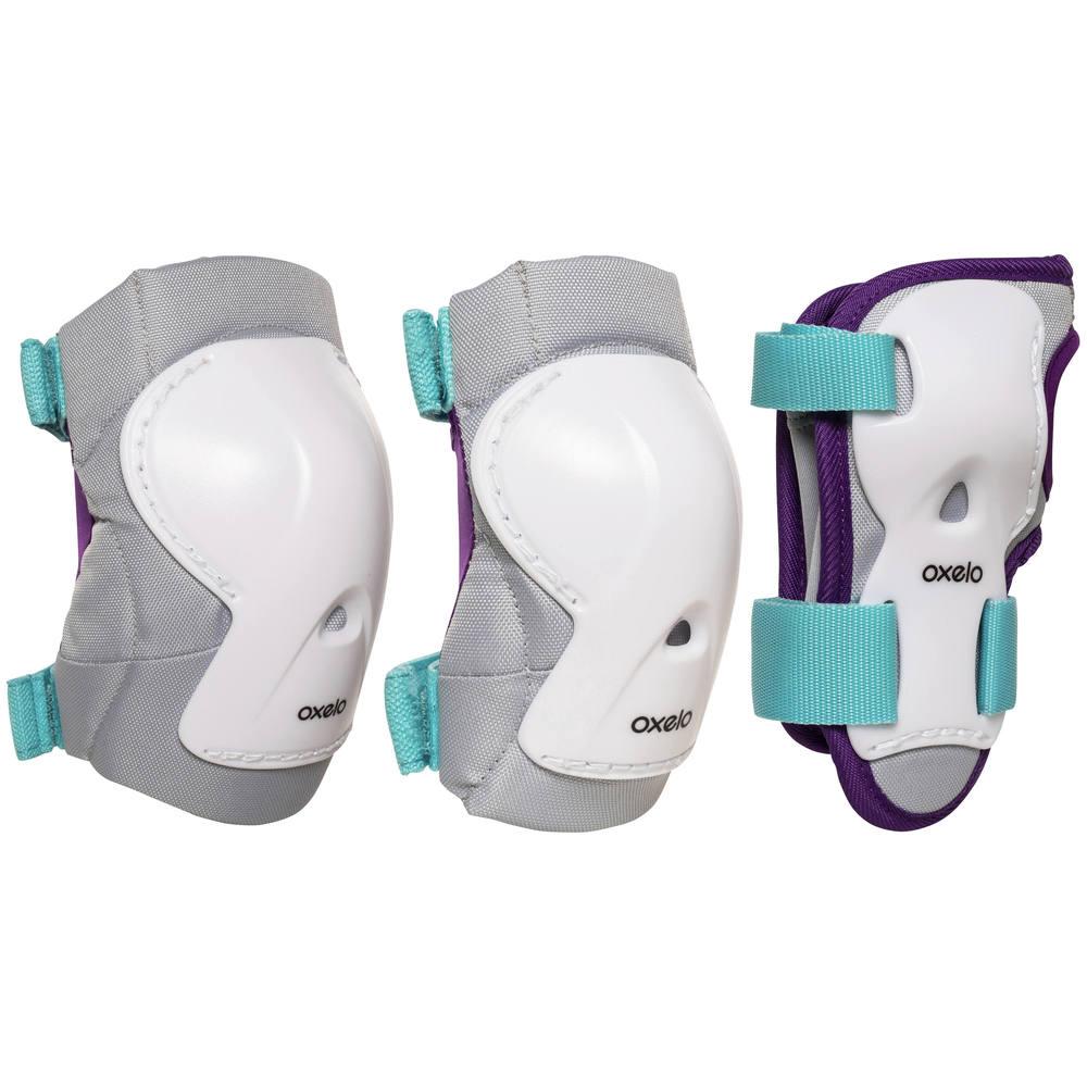 65aff0193 Kit infantil de proteção play de patins