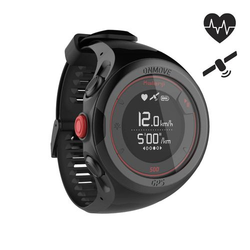 Relógio GPS ONmove 500 HRM - ONMOVE 500 HRM BLACK, .