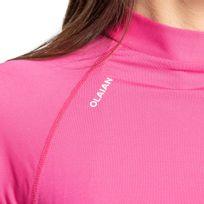 069467762f Camiseta feminina top solar manga longa 100 - decathlonpro