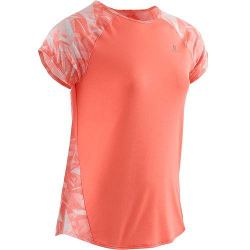 Camiseta Ginástica Menina Rosa Domyos - decathlonstore 7675b4e80cd