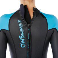 0988b216e Traje de natação em águas abertas neoprene OWS500 3 2mm feminino ...