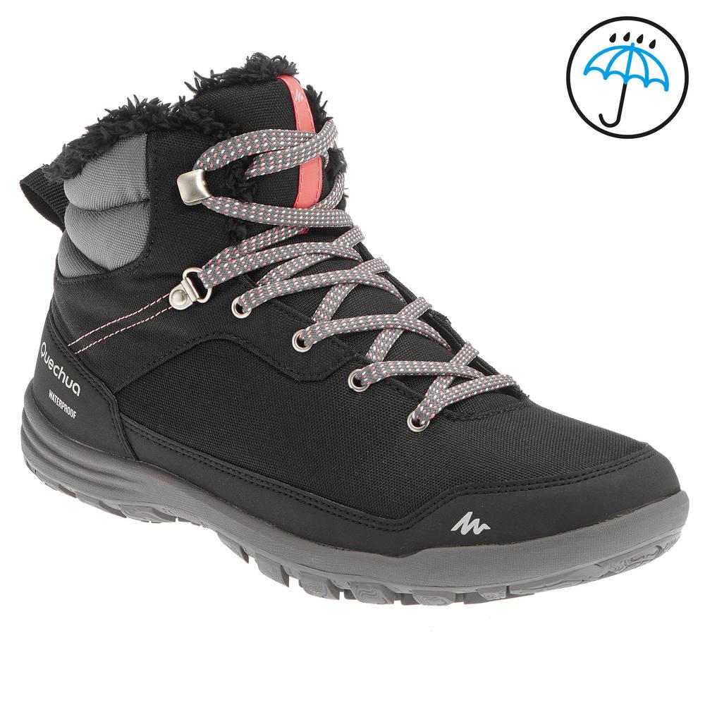 7d06a3e21dc74 Bota feminina de trilha na neve impermeável SH100. Bota feminina de trilha  na neve impermeável SH100