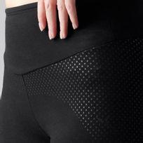 71305bcdc Calça Legging Slim de Ginástica e Pilates Feminina Domyos - decathlonpro