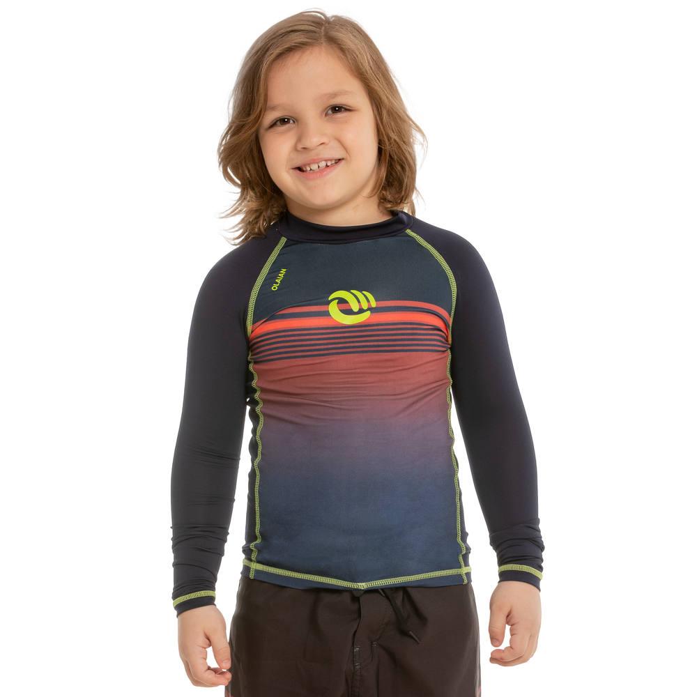 cfb362fcce Camiseta top solar infantil manga longa lightred com proteção solar.  Camiseta top solar infantil manga longa lightred com proteção solar