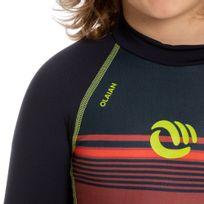 b7a48a7ba2 Camiseta top solar infantil manga longa lightred com proteção solar ...