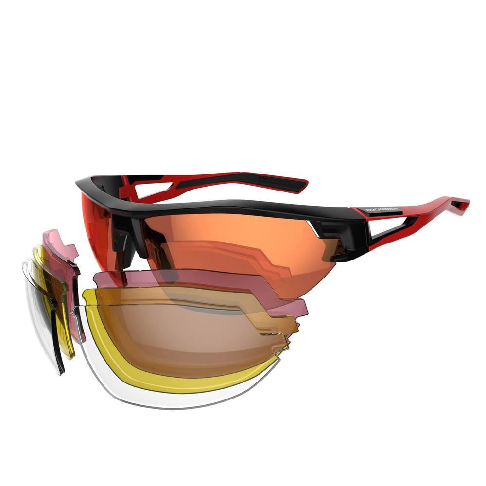 93772e3927c29 Óculos para MTB XC 100 com 4 lentes intercambiáveis - decathlonstore