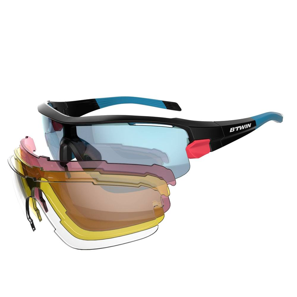 fd5fb33d0cf25 Óculos para ciclismo Road 900 com 4 lentes - CYCLING 900 RACE PACK 4  LENSES